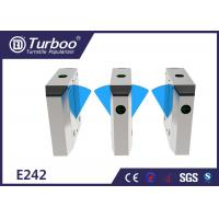 Multiple Sensors Flap Barrier Turnstile Access Control For Metro Station