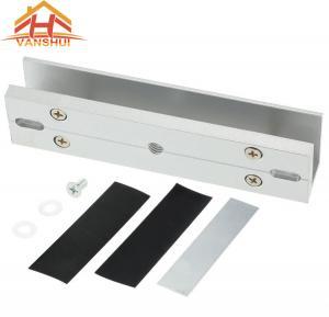 China U Bracket Electromagnetic Lock For Glass Door 150KG / 270KG / 300KG Force Holding wholesale