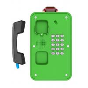 China Green Industrial Weatherproof Telephone , Tunnel /  Marine Waterproof Intercom wholesale