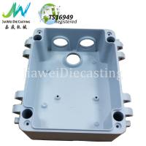 Buy cheap Waterproof CCTV Camera Parts , White Powder Coating Die Cast Aluminum Housing from wholesalers