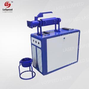 China 30W Handheld Fiber Laser Marking Engraver Machine Faster 150*150mm Printer wholesale