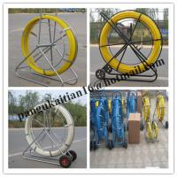 China Material Fiberglass duct rodder,Length 50m 100m 200m duct rodder wholesale
