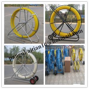 China video duct rodder,new type frp duct rod,shake frame fiberglass duct rodder wholesale