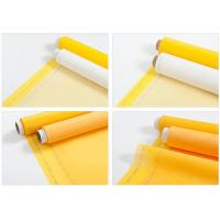 China 100% 120T Polyester Printing Screen Eco Friendly White / Yellow on sale