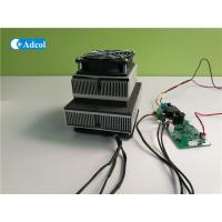 Thermoelectric Peltier Cooler Air Conditioner Assembly With Controller