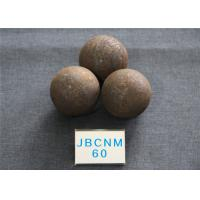 China High Hardness Hot Rolling Grinding Steel Balls d60MM for Cement Plants , Mines and Power Stations wholesale