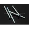 """China 6""""X BWG5 Galvanized Twisted Nails Screw Shank Zinc Plated Round Head Nails Hardened wholesale"""