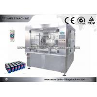China Soft Drink Can Filling And Sealing Machine , Juice Filling Line 12 Heads on sale