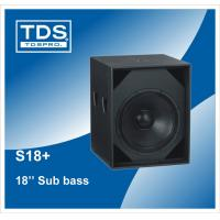 China Martin Style 18inch Subwoofer Speaker (S18+) in Bass Speaker Cabinet on sale