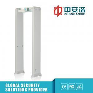 Buy cheap Sensitivity Adjustable Metal Detector Security Gate For workshop Metal Detector Full Body Scanner from wholesalers