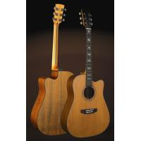 China OEM Deluxe Cedar Solid wood Guitar / Vintage Wood Acoustic Guitar TP-AG57 wholesale