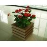China wood plastic outdoor planter OLDA-7001 520mm*520mm*526mm wholesale