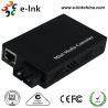China E- Link Single Mode SC Fiber Ethernet Media Converter 10 / 100 / 1000Mbps wholesale