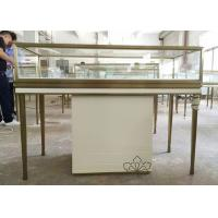 China Custom Logo Jewelry Retail Display Fixtures Stainless Steel Strong Frame wholesale