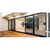 China EPDM Gasket Aluminum Sliding Doors For Balcony wholesale