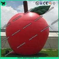 China Custom Red Inflatable Products 5M Oxford Inflatable Apple For Advertisement wholesale