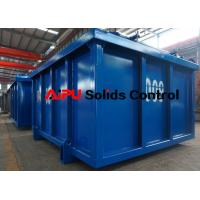 China High quality DNV certified cuttings boxes at Aipu solids control for sale wholesale