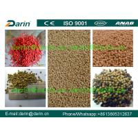 China Fish Extruder Machine Floating Fish Feed Processing Line CE / ISO Certification wholesale