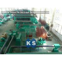 China Hexagonal Gabion Production Line Automatic Gabions Mesh Machine With PLC System wholesale