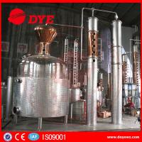 China 5000L Large Scale Stainless Steel Alcohol Distilling Equipment For Wine Making on sale