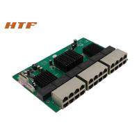 China Unmanaged Embedded Ethernet Switch Module 24 Port , Network Switch Board 48Gbps wholesale