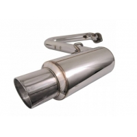 China Direct Fit Performance Stainless Steel 409 Universal Exhaust Muffler wholesale