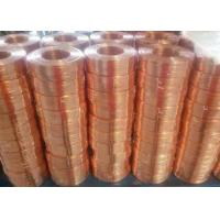China Durable Flat Bare Copper Wire , Carton Special Copper Electrical Wire Mini 1 Roll wholesale