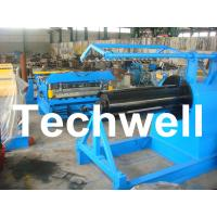 China Q235 / Q350 0.2 - 2.0mm Carbon Steel, Color Steel Simple Slitting Cutting Machine Line wholesale