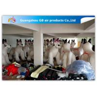 China PVC Airtight White Inflatable Dog 2.2m High For Advertisement ODM wholesale