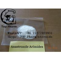 China Oral Anastrozole /Arimidex CAS 120511-73-1  raw powder 99% purity for gain muscle wholesale