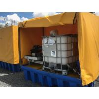 China Heavy Duty IBC Spill Containment Drum Platform For Oil Drum / Chemical Drum wholesale