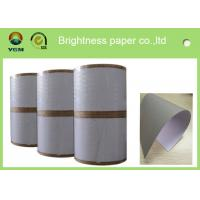 China Thick One Side Coated Board Paper White Regular Size 700 X 1000mm wholesale