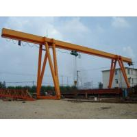 Buy cheap 10t Steel Inventory Yard L-Shape Hydraulic Gantry Crane from wholesalers