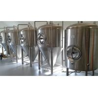 China Anti Rust Conical Beer Fermenter Stainless Steel 4 Bars Working Pressure wholesale