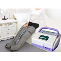 China Sequential Inflatable Leg Massager , Blood Circulation Long Boot Air Massager wholesale