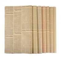 China Degradable Wrapping Paper Size 50 * 70cm Unbleached Kraft Paper Material on sale