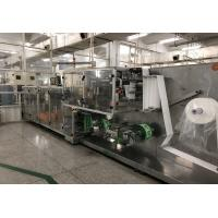 China Automatic wet tissue paper making machine with the speed of 300/min wholesale