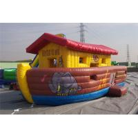 China Water Resisting Castle Inflatable Jumping Castle 4.5*4.5m Leak Proof wholesale