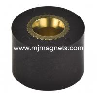Buy cheap plastic Injection molded permanent magnet for automotive product