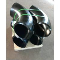China Carbon Steel Butt Weld Fitting , ASTM A234 WPB-S ,90DEG ELBOW LR SR , DN300 SCH120 BW SMLS B16.9 , Black Surface wholesale
