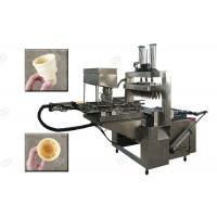 China Stainless Steel Cone Baker Machine , Commercial Waffle Cone Maker 23KW Power wholesale