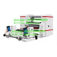 China Drinking paper straw slitting machine narrow slip paper roll center drum surface rewinding winding machiniery on sale