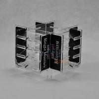 China Clear 4mm Acrylic Makeup Display Stand retail store For Advertisement CYMK Printing wholesale