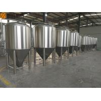China 500L Stainless Steel Fermentation Tank Small Conical Fermenter 60 Degree Cone wholesale