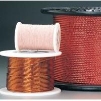 China 0.05 - 0.287mm Self Bonding Wire High Frequency Copper Litz Wire Insulated Winding Wire For Transformers on sale