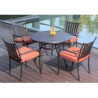 China outdoor furniture aluminum poolside table set-9071 wholesale