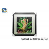 China Sexy / Nude Girl 5D 3D Lenticular Printing Pictures For Home Decoration on sale