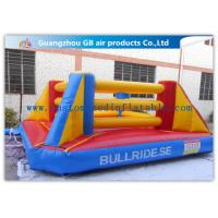 China Exciting Sports Game Inflatable Bounce House Boxing For Kids Playing wholesale