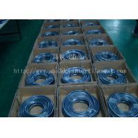 China Fluorescence PVC Plastic Flexible Hose Blue / Green For Automobiles , Computers , Lighting wholesale