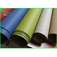 China Zero Pollution Fiber 0.5mm Colored Washable Kraft Paper For Fashion Bags wholesale